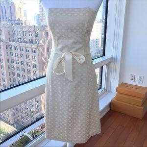 WHBM Tea Party Cocktail Wedding Strapless dress